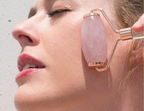 Beauty Roller – Rose Quartz